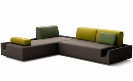 la revue du design blog archive fossa sofa. Black Bedroom Furniture Sets. Home Design Ideas
