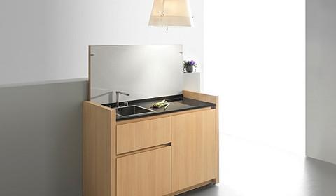 La revue du design blog archive les cuisines compactes k1 et k2 de kitchoo - Objet design cuisine ...
