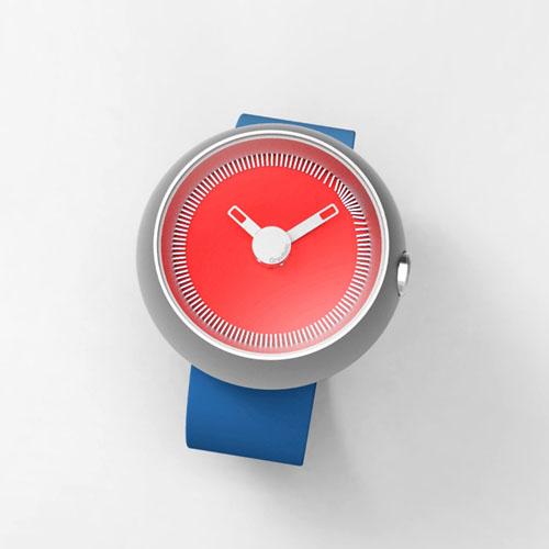 La revue du design blog archive gravitistic magnetic watch for Magnetic watches