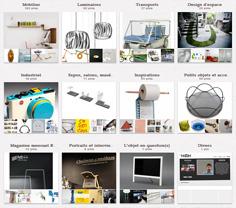 Retrouvez La Revue du Design sur Pinterest