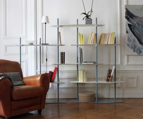 etagere fly design etageres en metal etagere en metal niv. Black Bedroom Furniture Sets. Home Design Ideas