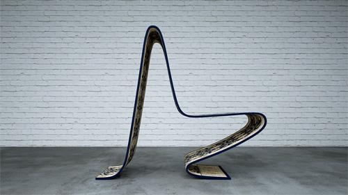 Carpet Chair par Stelios Mousarris et Jan Blythe