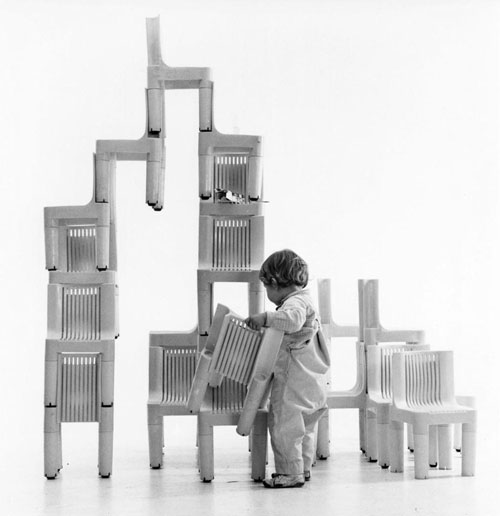 Chaise K1340 de Richard Sapper
