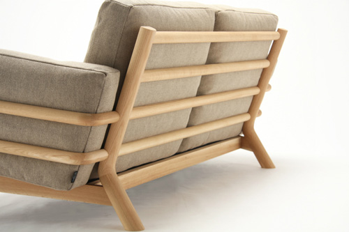 La revue du design blog archive castor sofa un for Canape japonais