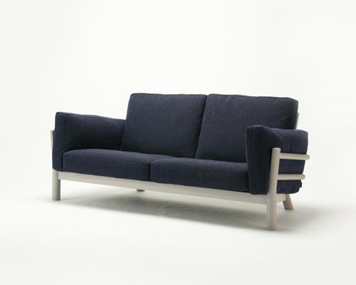 Sofa japonais de style japonais canap mains courantes en for Meubles japonais suisse