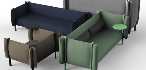 la revue du design blog archive la collection de fauteuils et canap s pinch. Black Bedroom Furniture Sets. Home Design Ideas