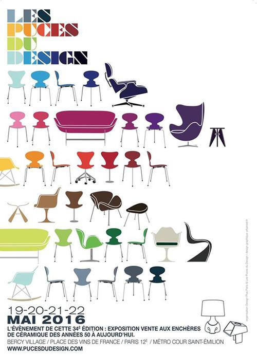 La revue du design for Puces du design paris