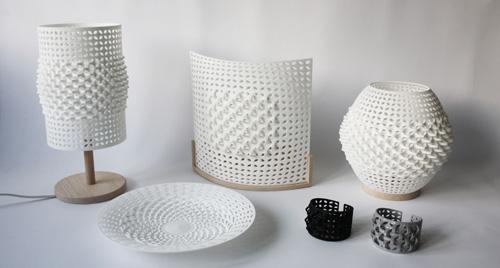 la revue du design blog archive les petits objets en impressions 3d de line pierron. Black Bedroom Furniture Sets. Home Design Ideas