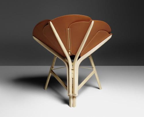 fauteuil fleur design