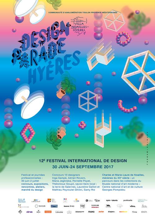[EXPOSITION] : La programmation de la Design Parade 2017