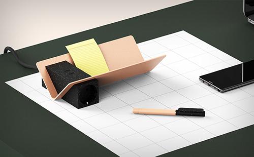 La revue du design » blog archive » lay un organiseur de bureau qui